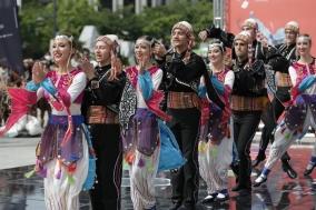 [포토] 천안흥타령춤축제2018, 사전행사 쇼케이스 열려