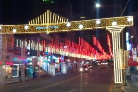 환상적인 빛의 향연 '천안세계크리스마스축제'