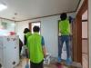 성환읍 행복키움지원단, 저소득 가정 청소 지원 및 후원물품 전달