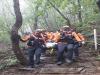 동남소방서, 광덕산 등산하던 60대 여성 긴급 구조