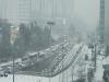 출근길 시민들 막아선 '눈발'…곳곳에서 거북이 운행, 대중교통도 마비 직전