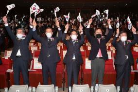 """양승조 지사 """"3.1운동 정신 되살려 국난극복에 힘 모아야"""""""