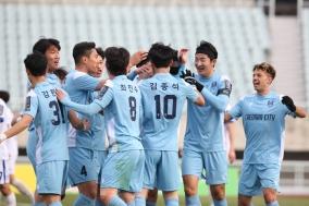 FA컵 1R로 시즌 첫 경기 가진 천안시축구단, 인천남동축구단에 대승