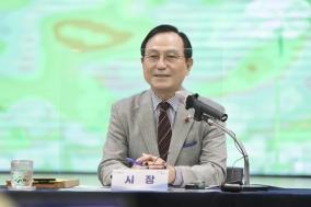 """박상돈 천안시장, """"지금은 선거 출마 뜻 보다 시민기대 부응하는 게 중요"""""""