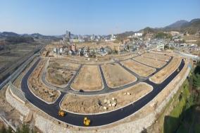 천안 부성지구 도시개발사업 공정률 85%…6월 준공 향해 순항