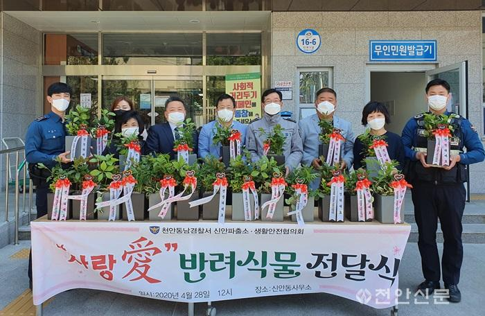 신안동(생활안전협의회 반려식물 기부 봉사).jpg