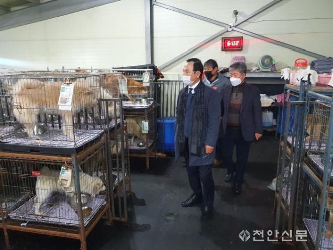 유기동물보호소 현장 점검2.jpg